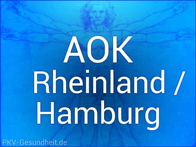 AOK Rheinland / Hamburg